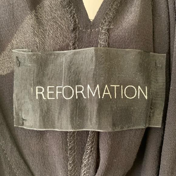 Reformation Dresses & Skirts - Reformation black trapeze dress vintage